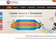A great web design by IQ Infotech, Delhi, India: