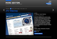 A great web design by Marc Sexton, Nashville, TN: