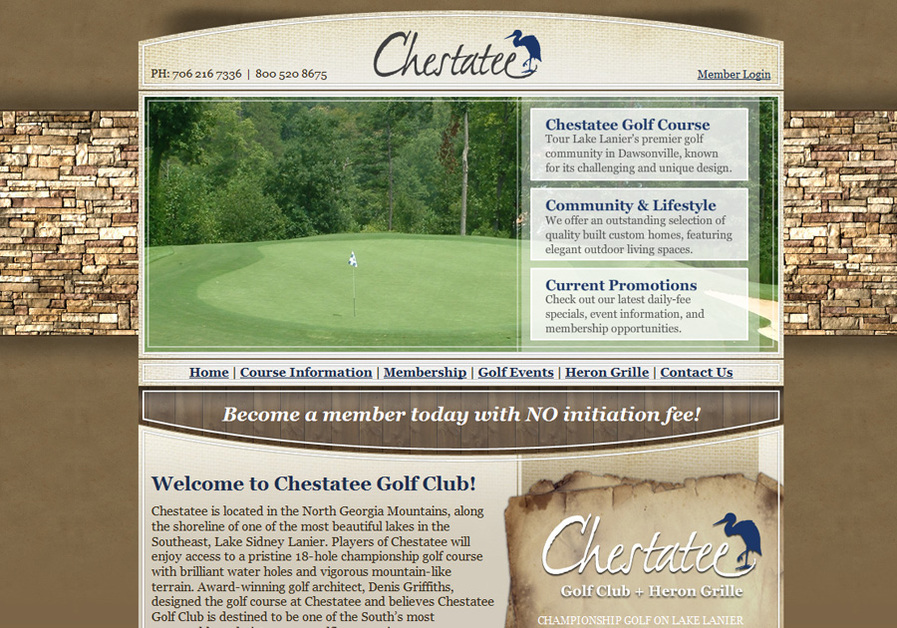 A great web design by WindNet, Inc, Atlanta, GA: