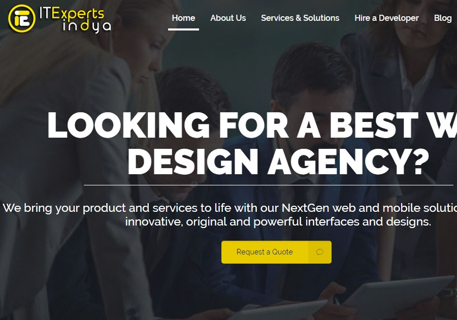 A great web design by ITExpertsIndya, Indore, India:
