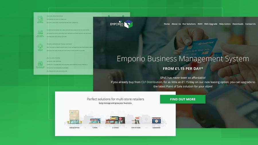 A great web design by Webcapitan, Vinnytsya, Ukraine: Responsive Website, Marketing Website , Service , Wordpress