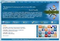 A great web design by Olomedia: