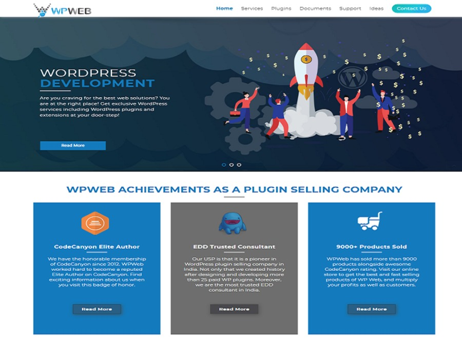 A great web design by WPWebElite, Ahmedabad, India: Other, Software , Wordpress