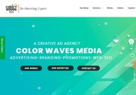 A great web design by Color Waves Media, Hyderabad, India: