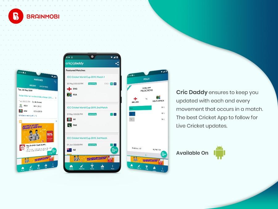 A great web design by BrainMobi, Noida, India: