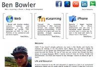 A great web design by Ben Bowler, Norwich, United Kingdom: