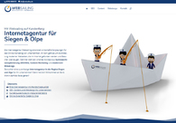 A great web design by Internetagentur Websailing, Wenden, Germany: