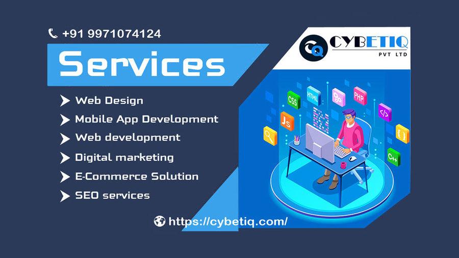A great web design by Cybetiq Pvt Ltd, Noida, India:
