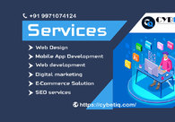 A great web design by Cybetiq Pvt Ltd, Noida, India:
