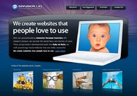 A great web design by Sparkplug, Portland, OR: