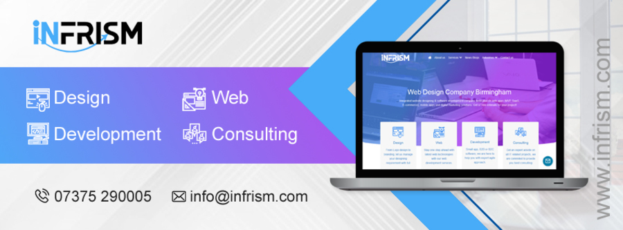 A great web design by Infrism Technologies, Birmingham, United Kingdom: