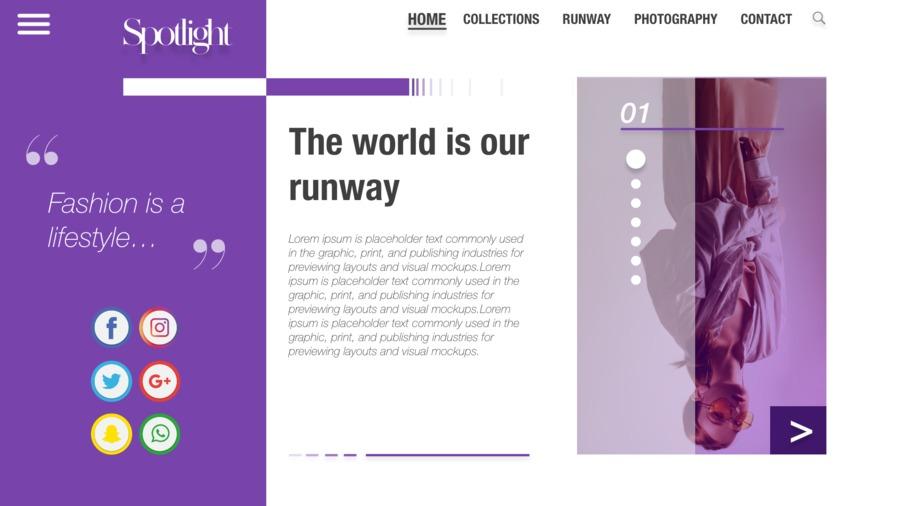 A great web design by Jasmine Thomas, Baton Rouge, LA:
