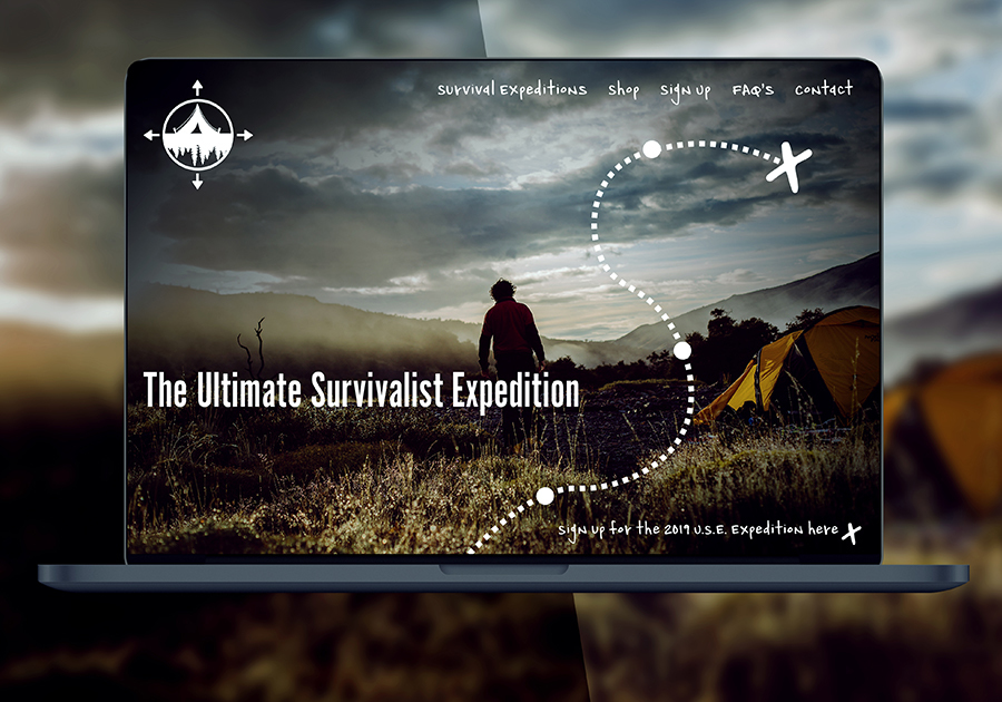 A great web design by Joel Kitts, Asheville, NC: