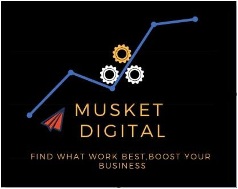 A great web design by Musket digital, Noida, India: