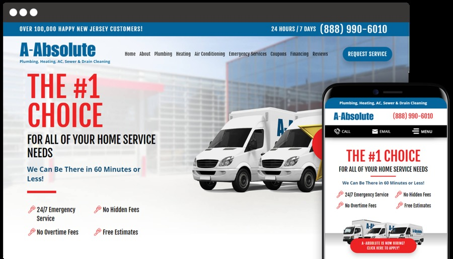 A great web design by SmartSites, Paramus, NJ: