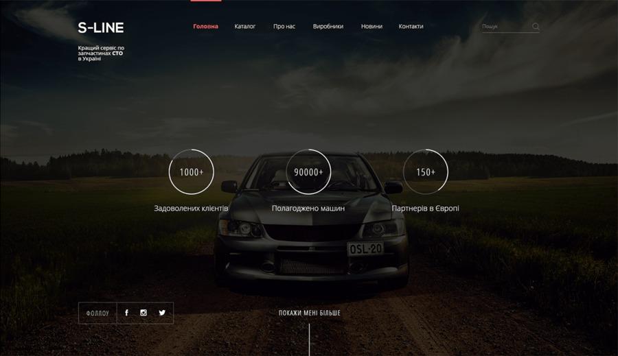 A great web design by Hire Ukrainian Developers, Lviv, Ukraine: