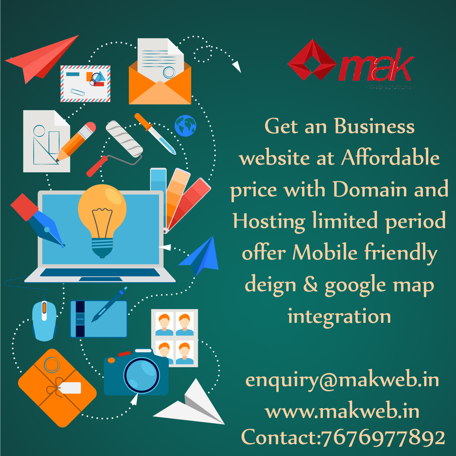 A great web design by Mak Web Solutions, Bangalore, India: