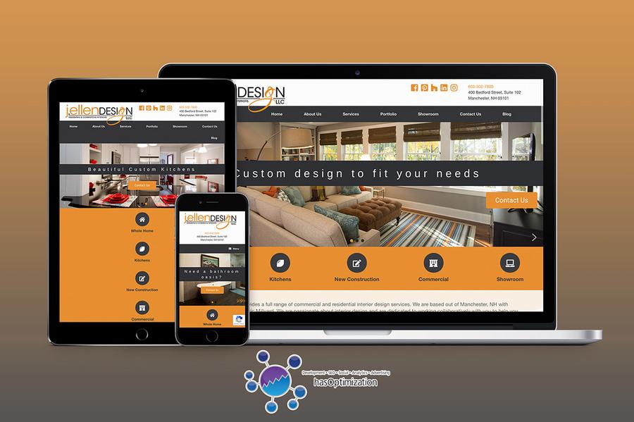 A great web design by hasOptimization, Concord, NH: Responsive Website, Portfolio , Service , Wordpress