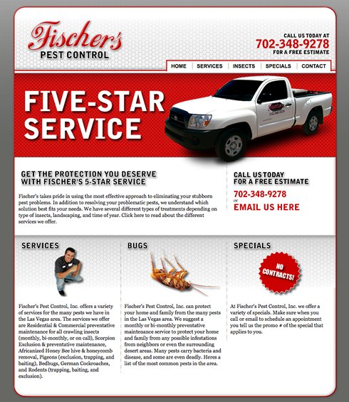 A great web design by Jeff Foster, Las Vegas, NV: