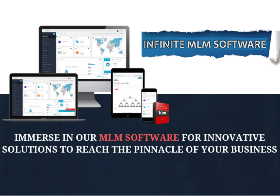 A great web design by Infinite MLM Software, Calicut, India: