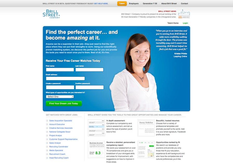 A great web design by Sean Johnson, Chicago, IL: