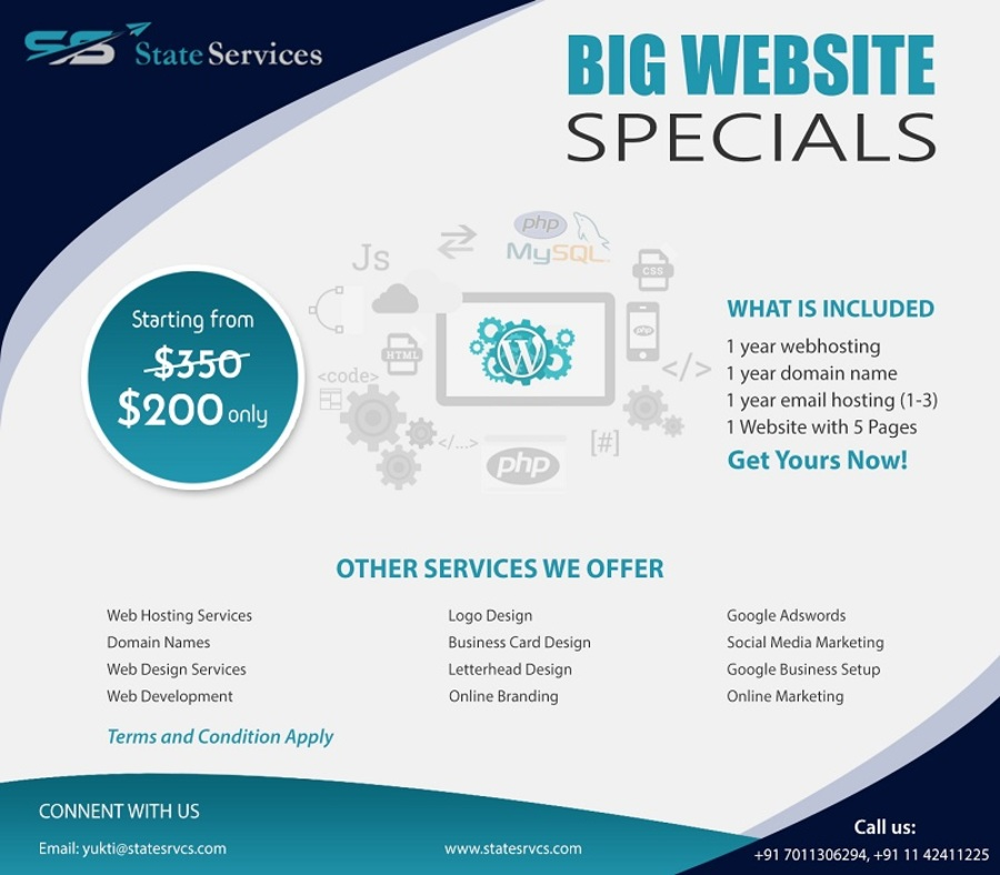 A great web design by State Services, New Delhi, India: Website, Marketing Website , Software , Wordpress