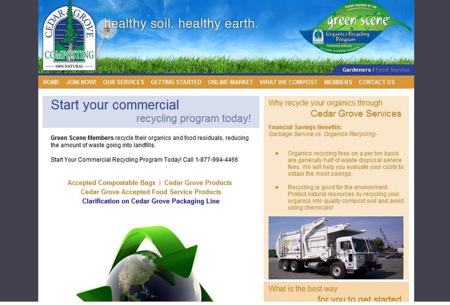 A great web design by Curvine Web Solutions, Seattle, WA: