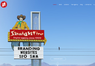 A great web design by StraightFire Marketing, San Diego, CA: