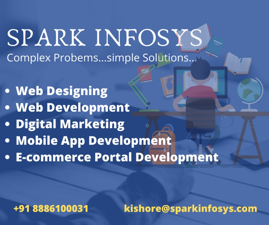 A great web design by sparkinfosys, Hyderabad, India: