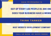 A great web design by Think Tanker - Top Website Development Company, Ahmedabad, India: