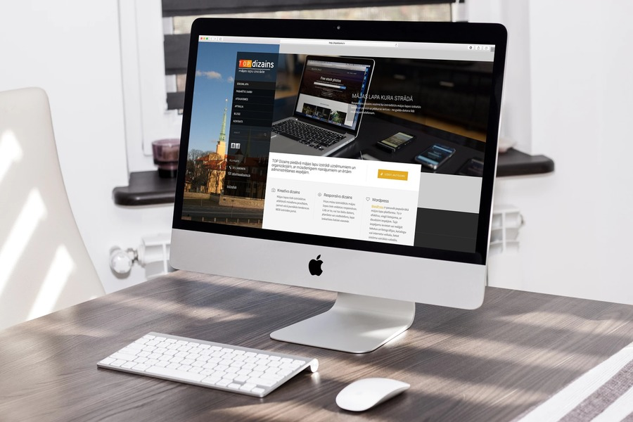 A great web design by Wordpress WEB design services, Riga, Latvia: