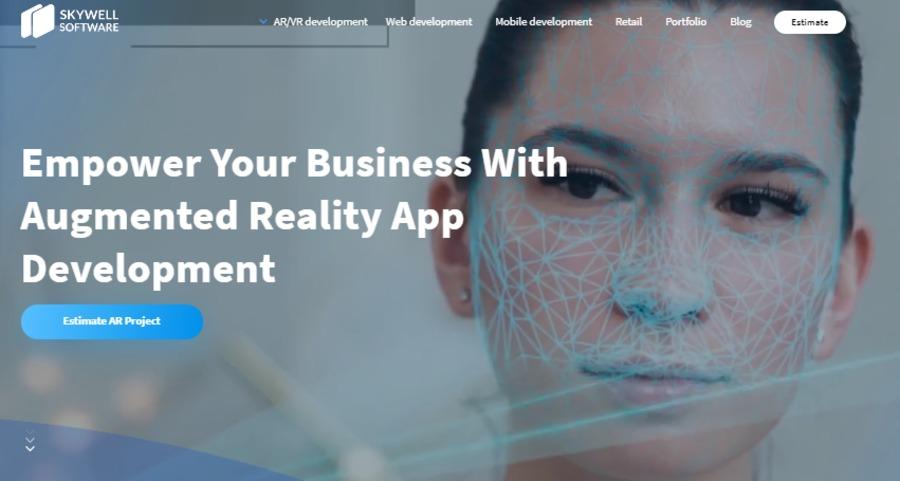 A great web design by Skywell Software, Kiev, Ukraine: