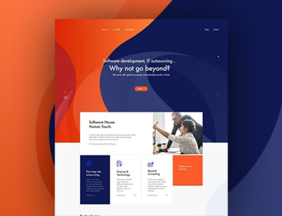 A great web design by vinniarora, Noida, India: