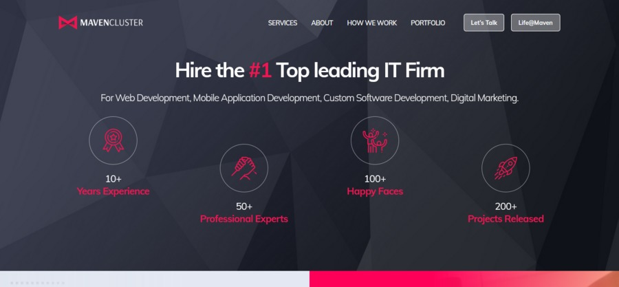 A great web design by Maven Cluster , Indore, India: Website, Web Application , Technology , PHP