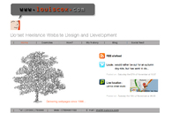 A great web design by Louis Cox, Weymouth, United Kingdom:
