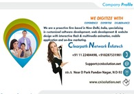 A great web design by Clearpath Network Infotech, Delhi, India: