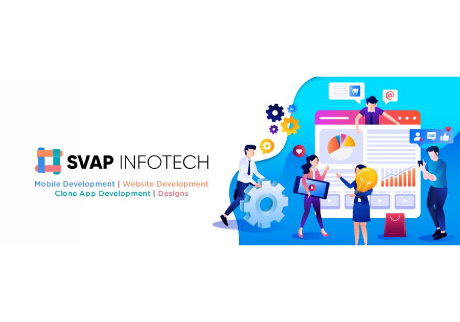 A great web design by SVAP Infotech Pvt Ltd, Jaipur, India: