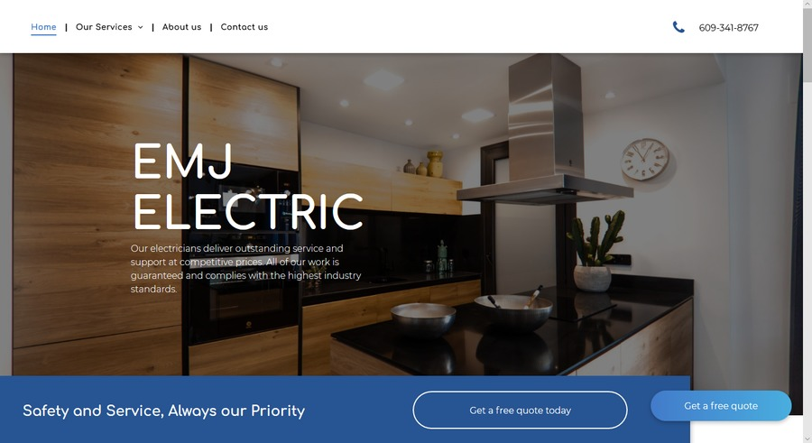 A great web design by VIZIdesigns, Princeton Junction, NJ: