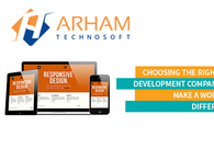 A great web design by Arham Technosoft Pvt Ltd., India, UT: