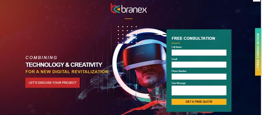 A great web design by Branex | Web Design Agency New York, New York, NY: