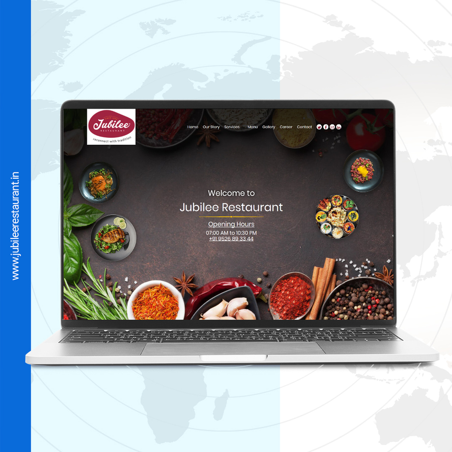 A great web design by Xeventure IT Solutions, Kochi, India: