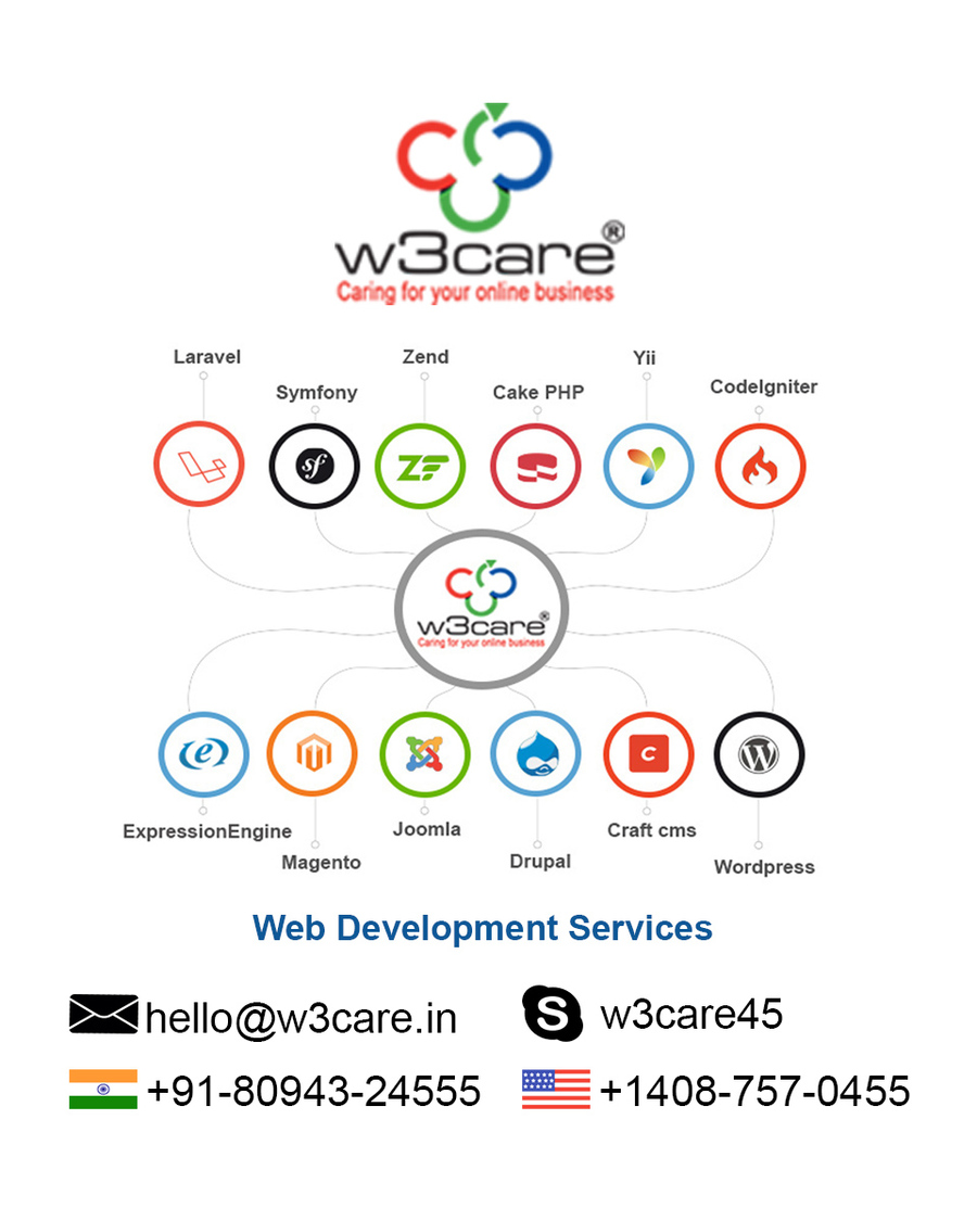 A great web design by W3care Technologies, Seattle, WA: