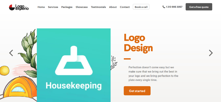 A great web design by LogoExperio, Los Angeles, CA: