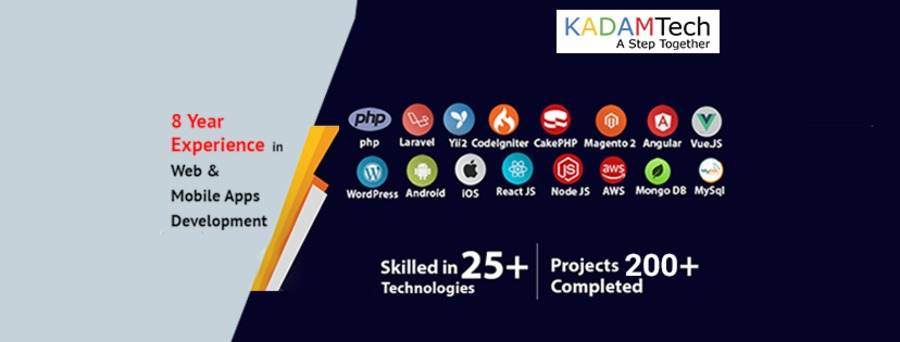 A great web design by Kadam Technologies Pvt. Ltd., Jaipur, India: Responsive Website, Web Application , Technology , Design Only