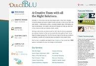 A great web design by Dulce Blu - Web & Print Design, New York, NY: