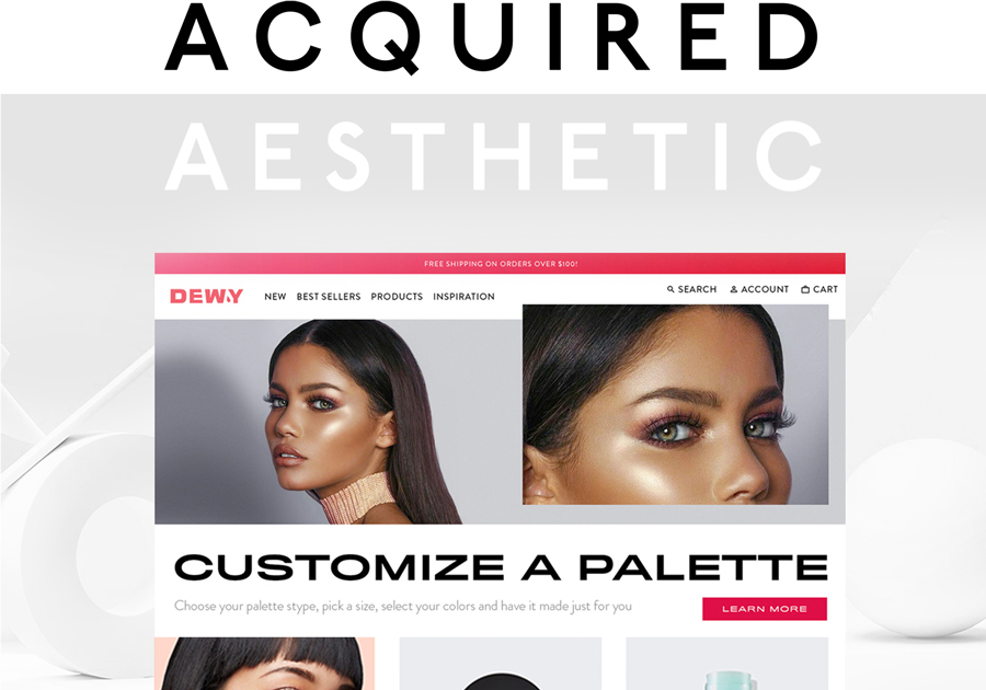 A great web design by Acquired Aesthetic, New York, NY: Responsive Website, Marketing Website , Consumer Products , Other