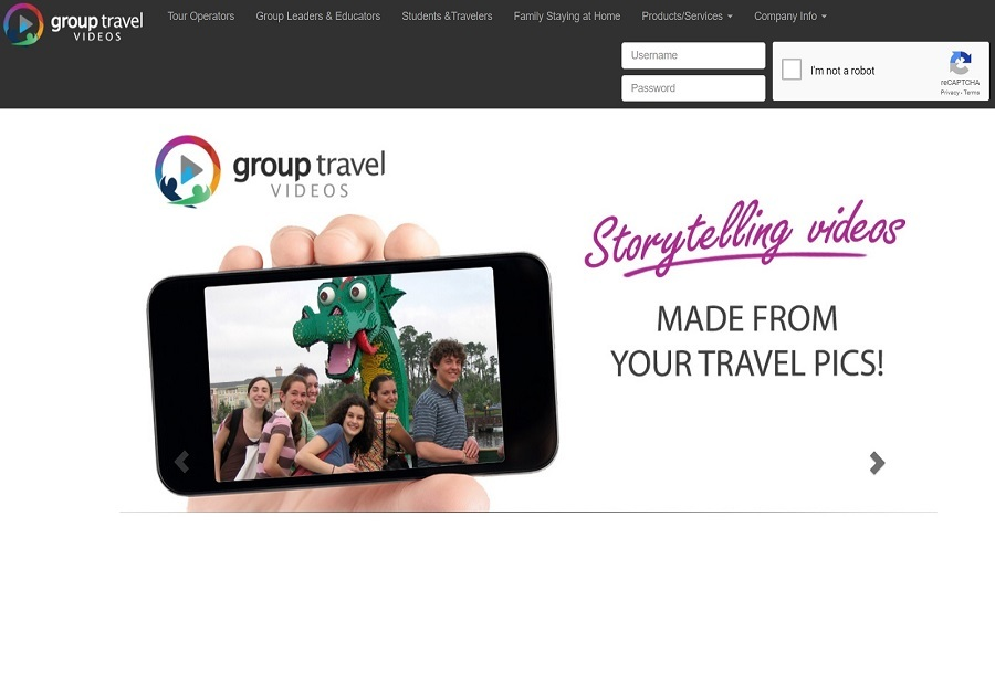 A great web design by Techliance, Draper, VA: Website, Web Application , Travel , PHP