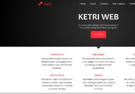 A great web design by Ketri Web, Tirana, Albania: