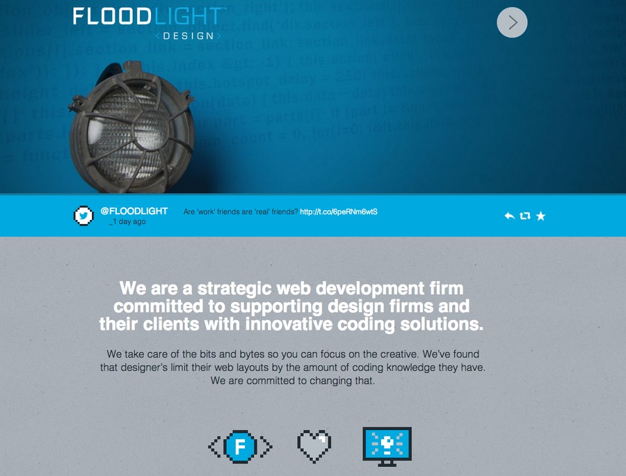 A great web design by Floodlight Design, Chicago, IL: Responsive Website, Technology , Wordpress