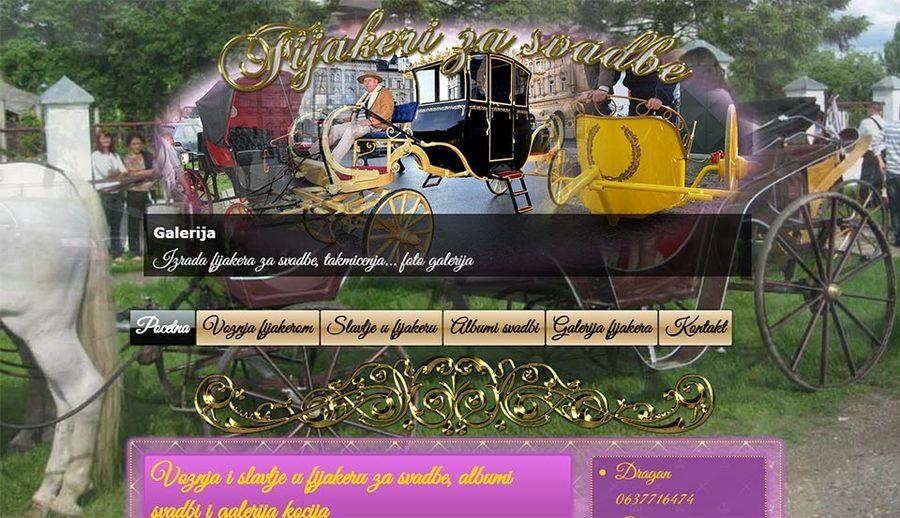 A great web design by ReklameTeka, Novi Sad, Serbia: